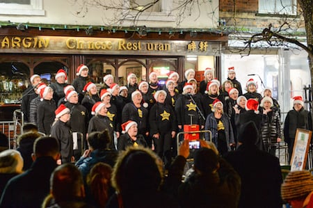 Driffield Christmas carols