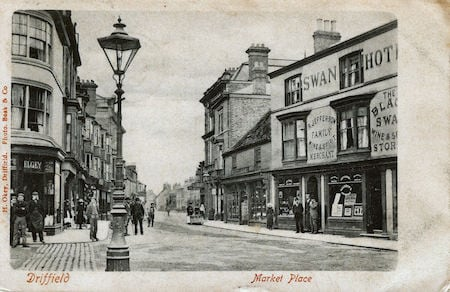 Driffield market place history 2
