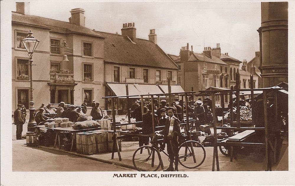 Driffield market place history