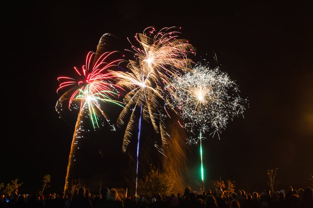 Driffield fireworks display
