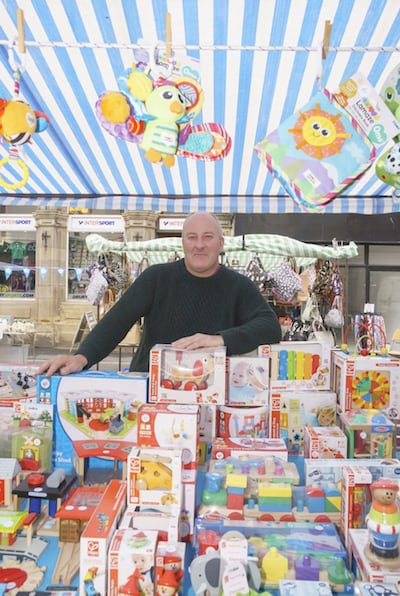 Driffield market toy stall