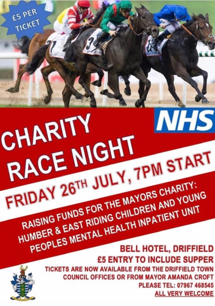 Driffield Town Council Charity Race Night